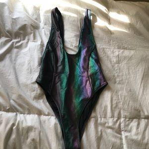 Mermaid body suit